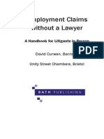 Employment Claims Without a Lawyer (Sample)
