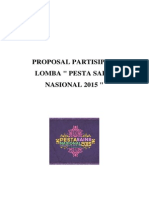 Proposal Partisipasi Lomba PSN2015