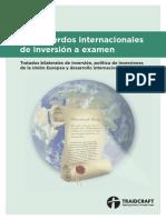 Los acuerdos internacionales de inversión a examen