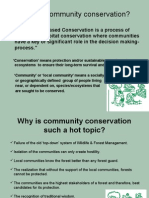 Community Conservation in India
