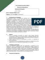 Diseño y Desarrollo de Proyectos Matias Gonzalez