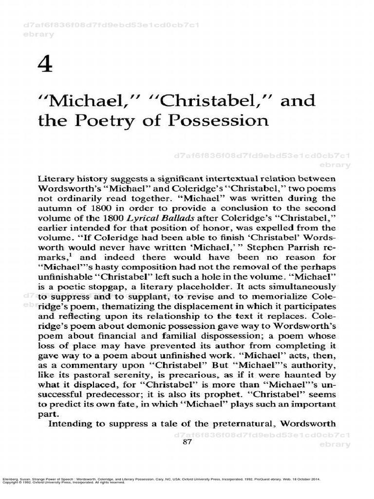 christabel poem