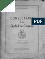 Consectario de Cumaná