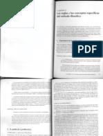 Russ J. Metodos y Tecnicas en la investigacion filosofica, cap 2