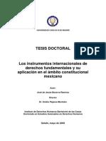 tesis instrumentos