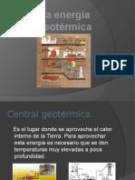 Powerpoint - Energía Geotérmica