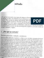 Russ J. Metodos y Tecnicas en la investigacion filosofica, cap 1