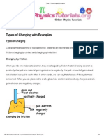 Types of Charging With Examples