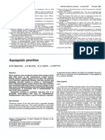 Aquagenic Pruritus