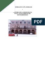 HISTORIA DEMOCRÁTICA DEL AYUNTAMIENTO DE MONTEHERMOSO