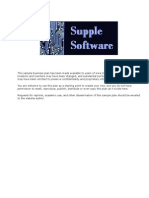 Bisnis Plan Software House