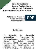 Servicio de Custodia Diplomática y Protección a Personalidades
