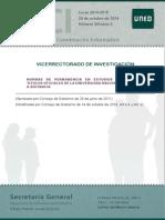 Normas Permanencia en Estudios Oficiales UNED OCT 14