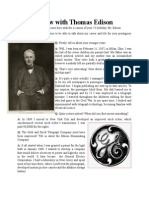 An Interview With Thomas Edison