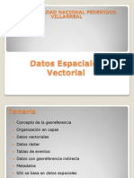 Datos Espaciales Vectorial