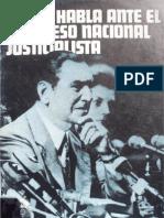 Juan D. Peron - Discurso 24 de Mayo de 1974