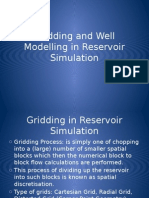 Kuliah IV-Gridding and Well Modelling in Reservoir Simulation