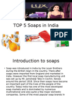 Top 5 soaps in india