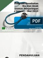 Evaluasi Program Kesehatan Ibu Dan Anak