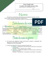 1 - Ficha Informativa - O Nome