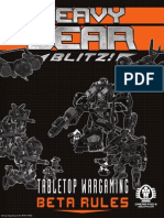 HeavyGearBlitz Tabletop Wargaming Beta Rules eBook