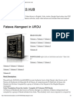 Fatawa Alamgeeri in Urdu _ Islamic Books Hub