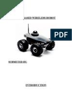 Gsm Based Robot