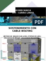 Sostenimiento Con Cable Boltig