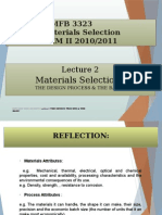 Material Selection Lecture