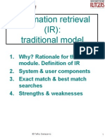 IR Traditional Model