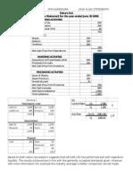 FFM Homework Cash Flow Statements