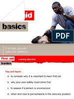 First Aid Basics 1 Ppt