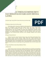 Anatomi Dan Fisiologi Sistem Imun Dan Hematologi Dari Janin Hingga Lansia