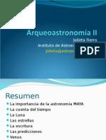 Arqueoastronomia II