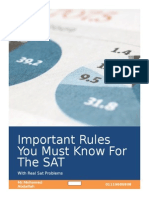Important Rules You Must Know for the SAT With Questions Color