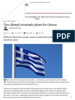 Two dismal economic plans for Greece - FT.pdf