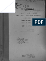 8th Airforce Tactical Mission Report