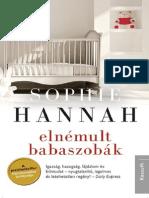 Sophie Hannah - Elnémult Babaszobák