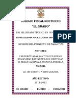 Informe de FCT - Ejemplo1