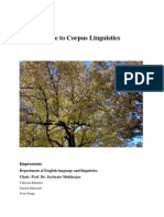 A Guide to Corpus Linguistics