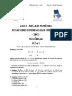 23051 Análisis Numérico 2015 S1 EDOs Numéricas Guía 01 Mgc Ing. Civil. Mec. Marcelo Gallardo Maluenda Beta(1)