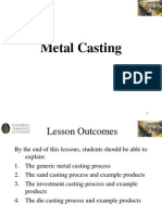 Topic 4 - Metal Casting