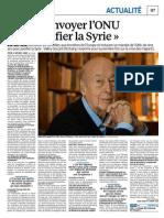 Giscard Sur La Syrie-2-3