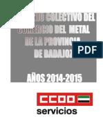 Convenio Comercio Metal 2014 2015