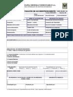 Cmc-In-001-14 Formato Investigación - Incidente