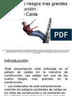 Los 4 Riesgos Mas Importantes en La Construcciòn by Osha