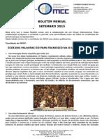 OMCC Boletim - Setembro 2015
