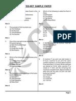 TISS-NET Sample Paper