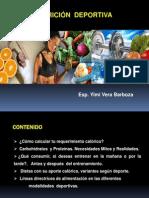 Taller Nutricion Aplicada Al Deporte y Fitness