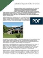 CyL Se Sostiene En Julio Como Segundo Destino De Turismo Rural De España